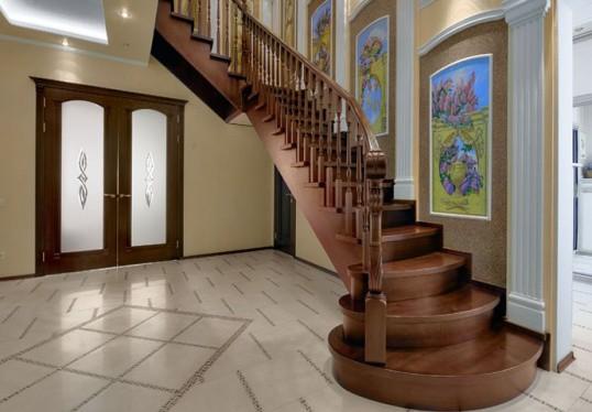 Броская деталь лестницы, но что-то здесь не так