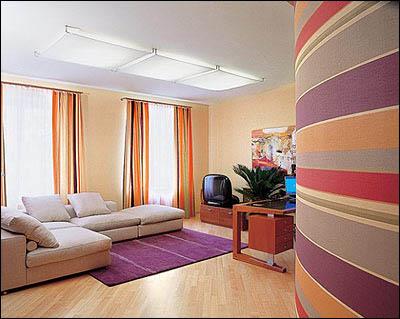 Отделка помещения при помощи клеевых красок