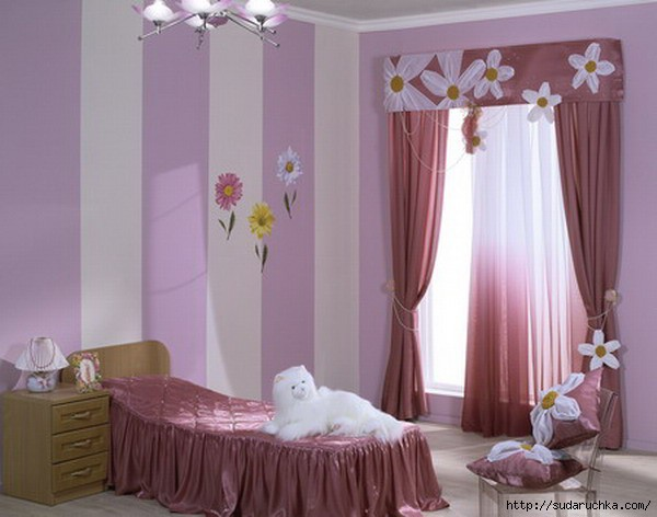 Детская комната в стиле пэчворк