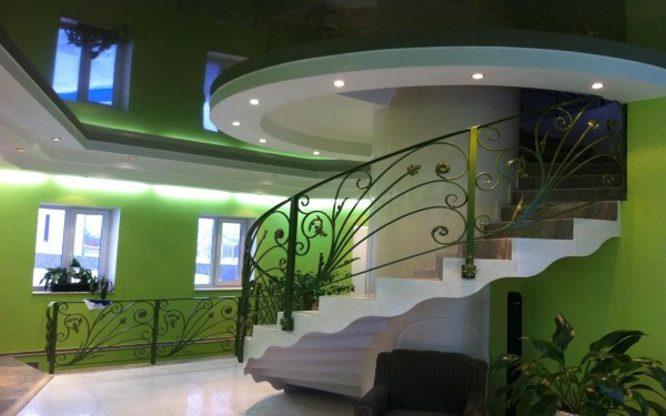 Оригинальный дизайн вестибюля