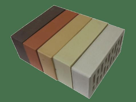 Керамический кирпич: варианты расцветки
