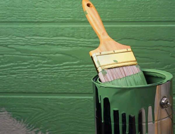Материалы для внешней отделки деревянного дома. Покраска фасада