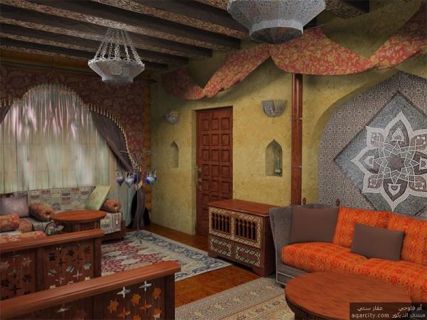 Оформление дома в арабском стиле