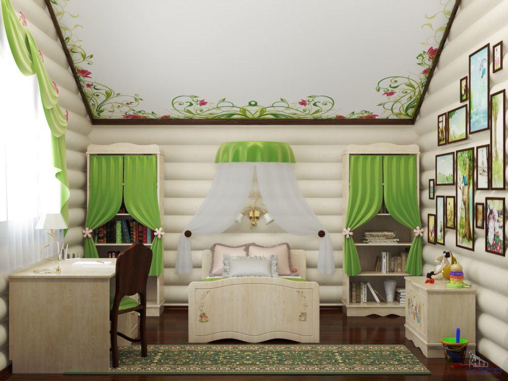 Внутренняя отделка дома блок хаусом идеи дизайна