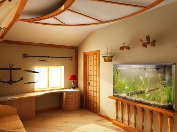 Отделка внутренняя деревянного дома