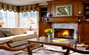 Огонь в доме очищает и поднимает настроение