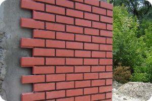 Отделка наружных стен фасадной плиткой