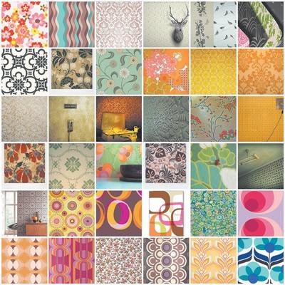 Цветовая гамма бумажных обоев