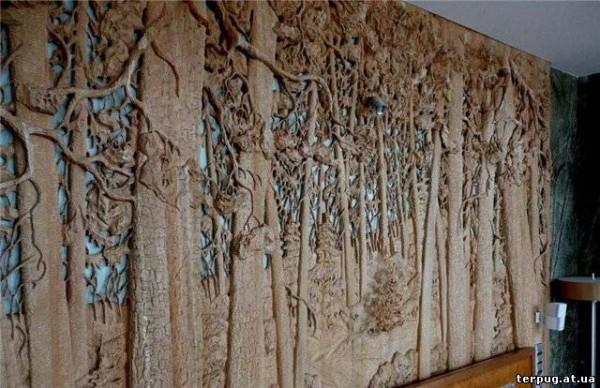 Резьба по дереву: декоративная перегородка