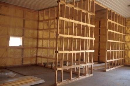 Подготовка помещения под монтаж сайдинга