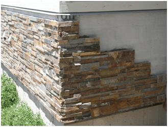 Применяем искусственный камень для отделки дома