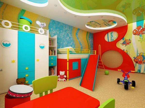 Пробковое покрытие в дизайне детской