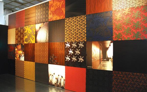 Стеновые панели внутренней отделки помещений в стиле пэчворк