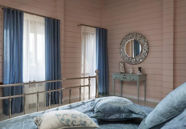 Внутренняя отделка деревянного дачного дома: вариант дизайна