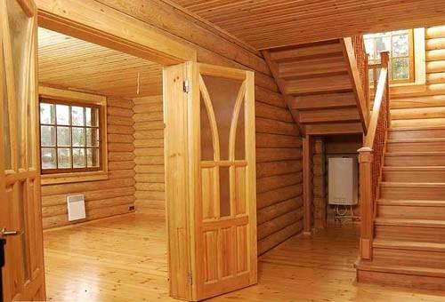 Отделанная комната