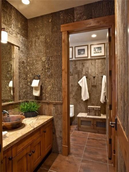Деревянные панели, имитирующие кору дерева
