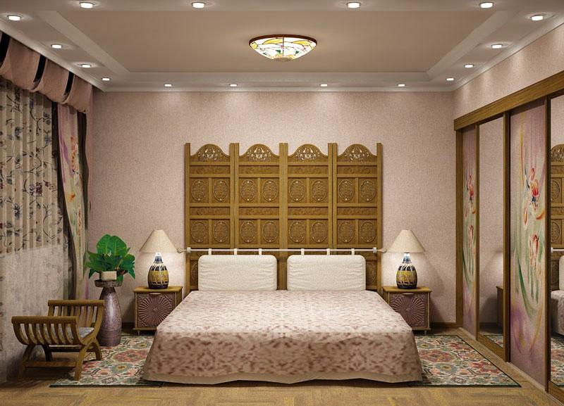 Потолок спальня своими руками фото