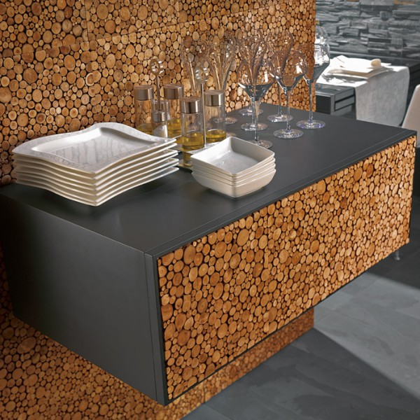 Дизайн: облицовка керамической плиткой в кафе