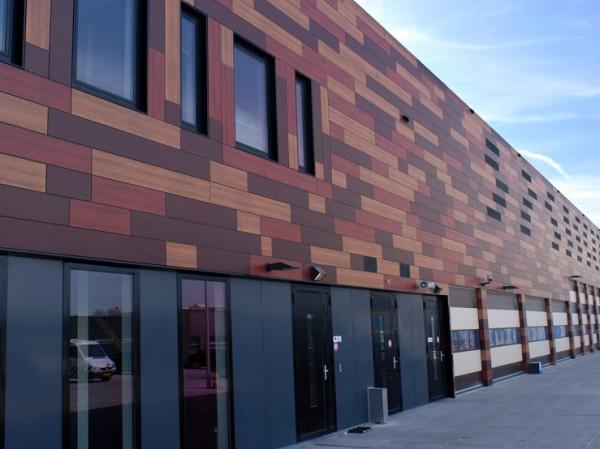 Древесные панели: дизайн облицовки фасадов