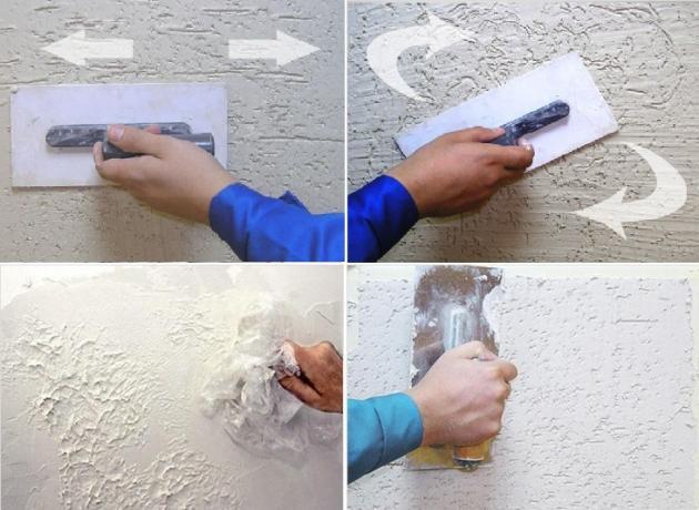 Декоративная штукатурка своими руками инструкция