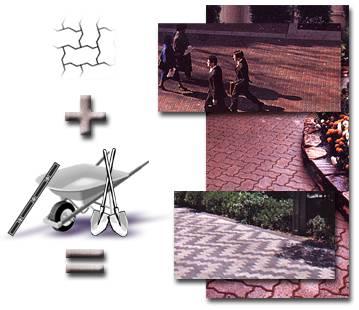 Этапы работ по укладке тротуарной плитки
