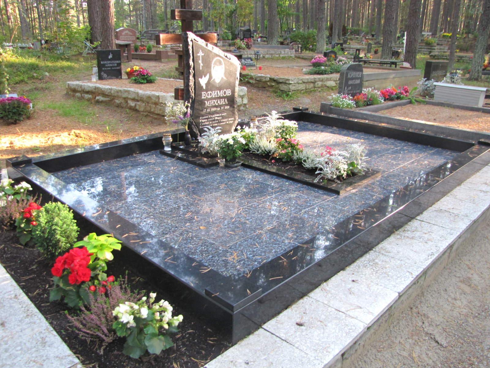 Как сделать красивую могилу на кладбище