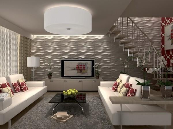 Идеи для отделки стен: создание рельефа панелями 3Д
