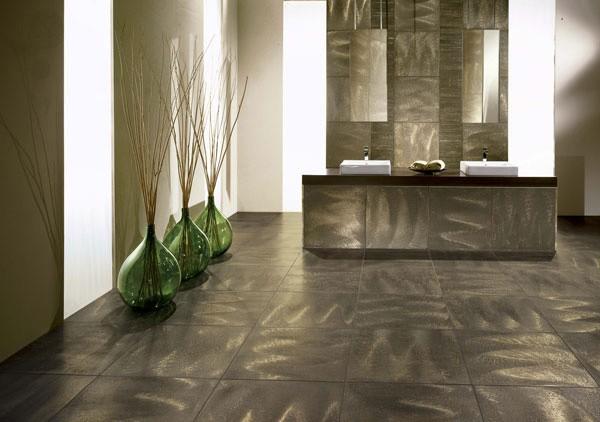 Керамическая плитка в дизайне таунхауса