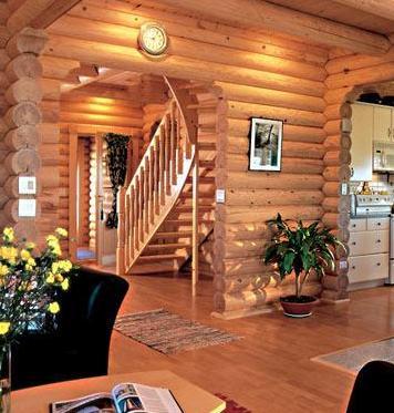 Отделка интерьера деревом, идеальное решение для вашего помещения