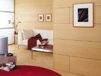 Отделка стен листовыми панелями