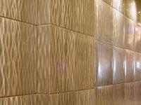 Отделка стен плиточными панелями