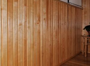 Отделка вагонкой деревянного дома. Вагонка из чёрной ольхи