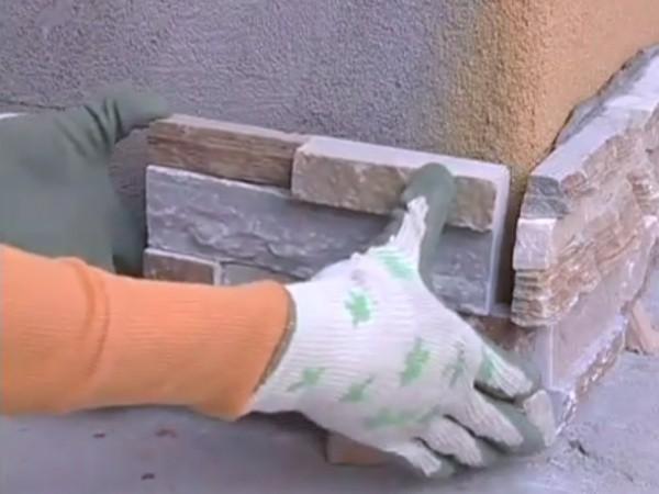 Монтаж декоративного камня своими руками 12