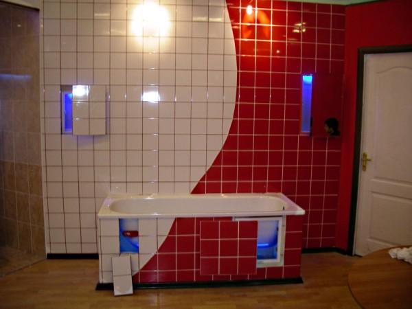 Применение кафеля в отделке ванной