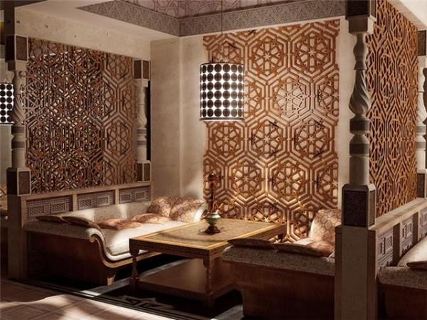 Ресторан в арабском стиле