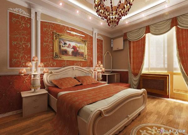 Спальни: отделка в классическом стиле