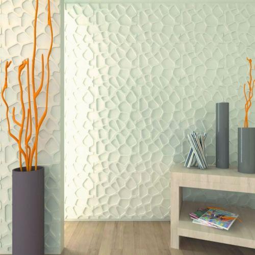 Стеновые 3d панели, изготовленные из ПВХ