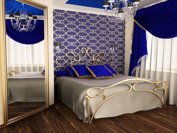 Стиль модерн: интерьер маленькой спальни 9кв м