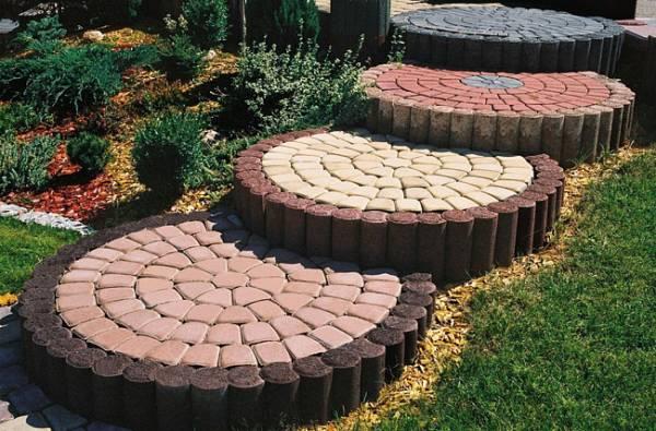 Тротуарная плитка в дизайне крыльца