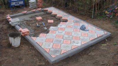 Тротуарная плитка в качестве отделочного материала