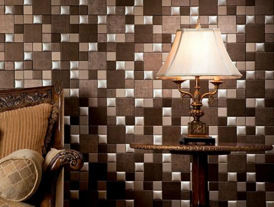 Вариант отделки стен плиткой