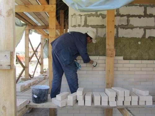Варианты отделки дома из блоков