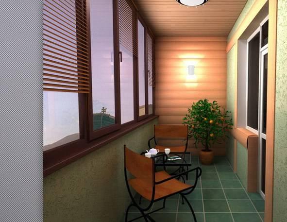 Что входит в отделочные работы балконов и лоджий