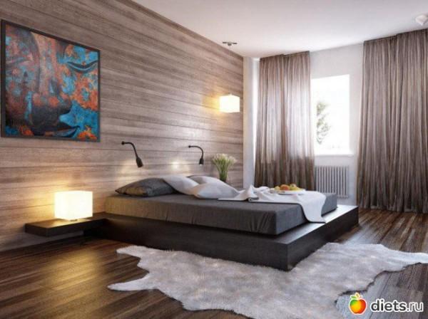 Доска в дизайне стен