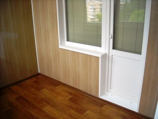 Как сделать откосы окон на балконе