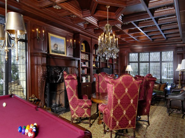 Интерьер в готическом стиле