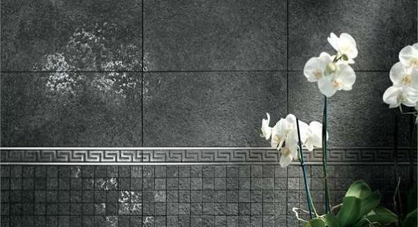 Как смотрится на дивном фоне керамогранита орхидея