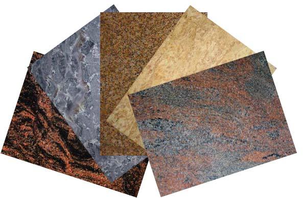 Какая встречается поверхность гранитной плитки