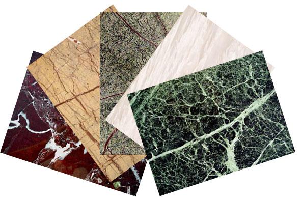 Какая встречается структура мрамора
