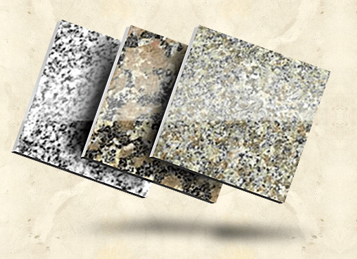 Области применения гранитных плит
